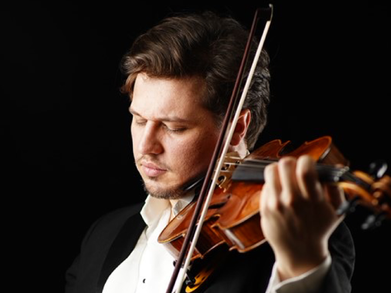 Luke Turrell - student - Robert Turell - Violin teacher Bath